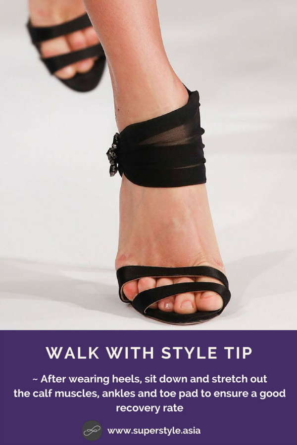 Walk With Style Tip
